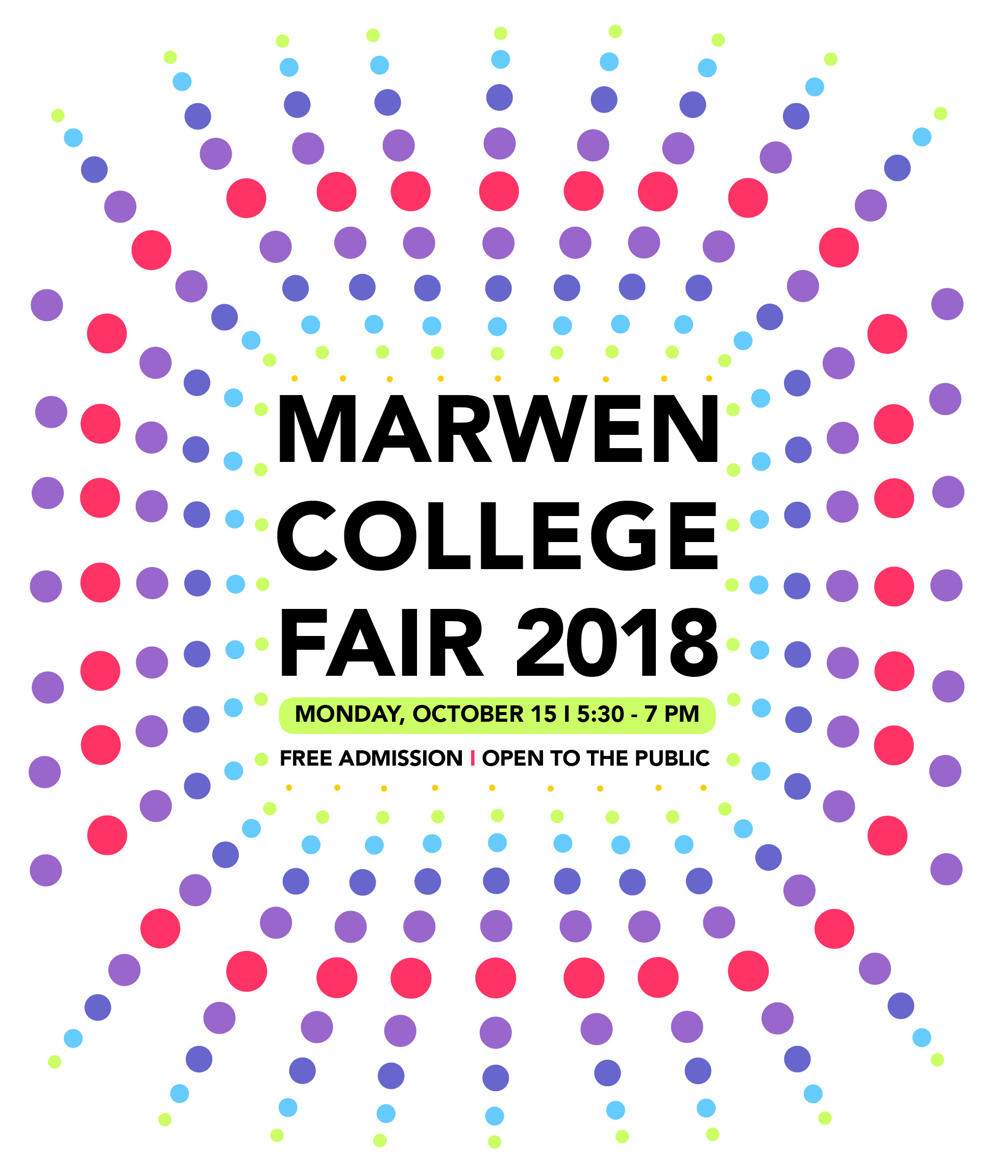 Marwen College Fair 2018